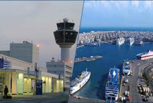 Private Transfer Between Athens Airport and Piraeus Port