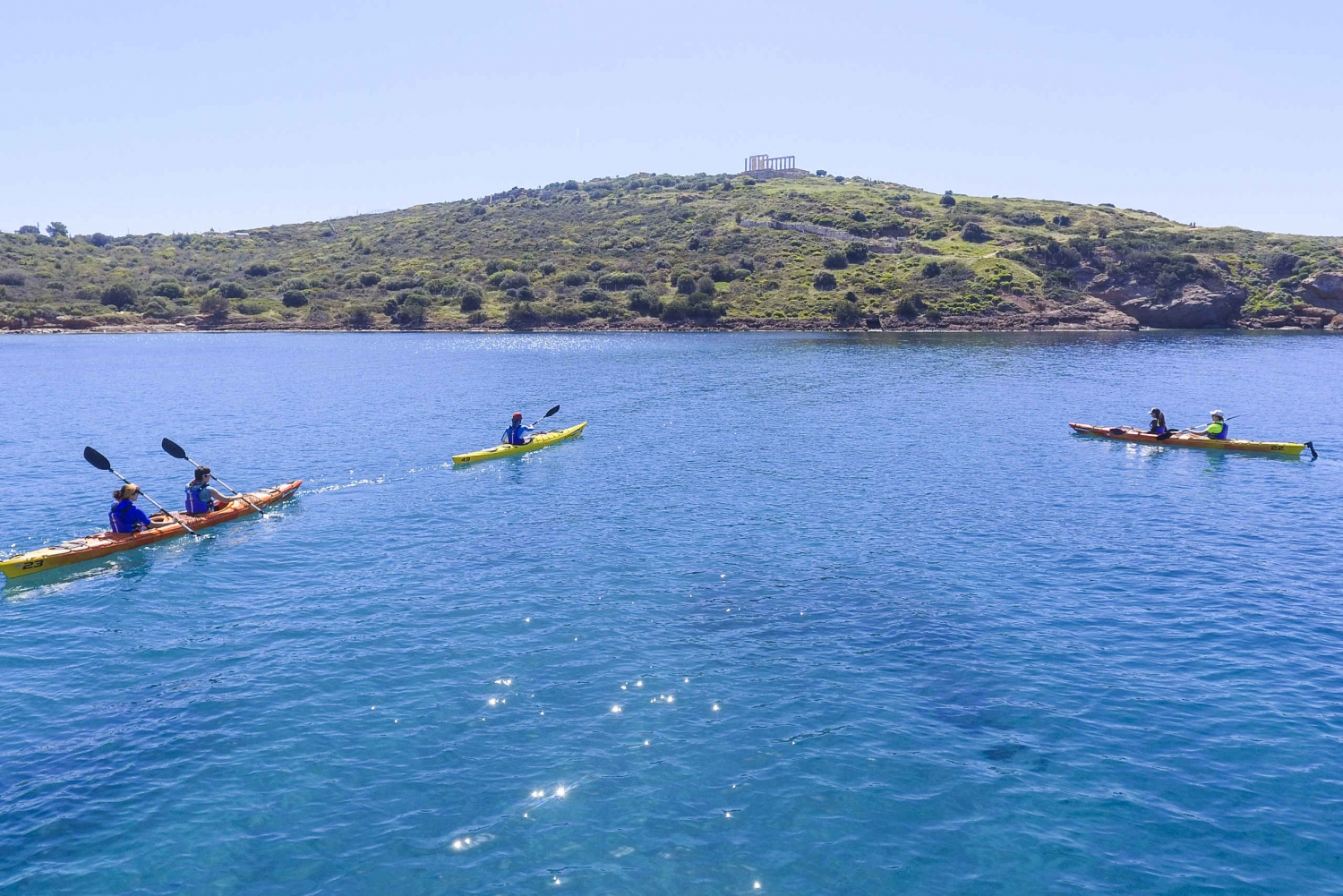 Sea Kayak Adventure from Athens to Cape Sounion