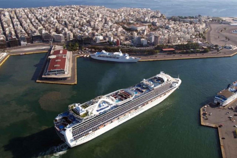 Shuttle Bus Service Piraeus Port to Athens Hotels