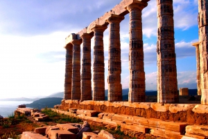 Temple of Poseidon in Sounio Private Sunset Tour from Athens