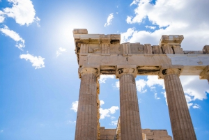 The Acropolis and Greek Food Private Guided Tour