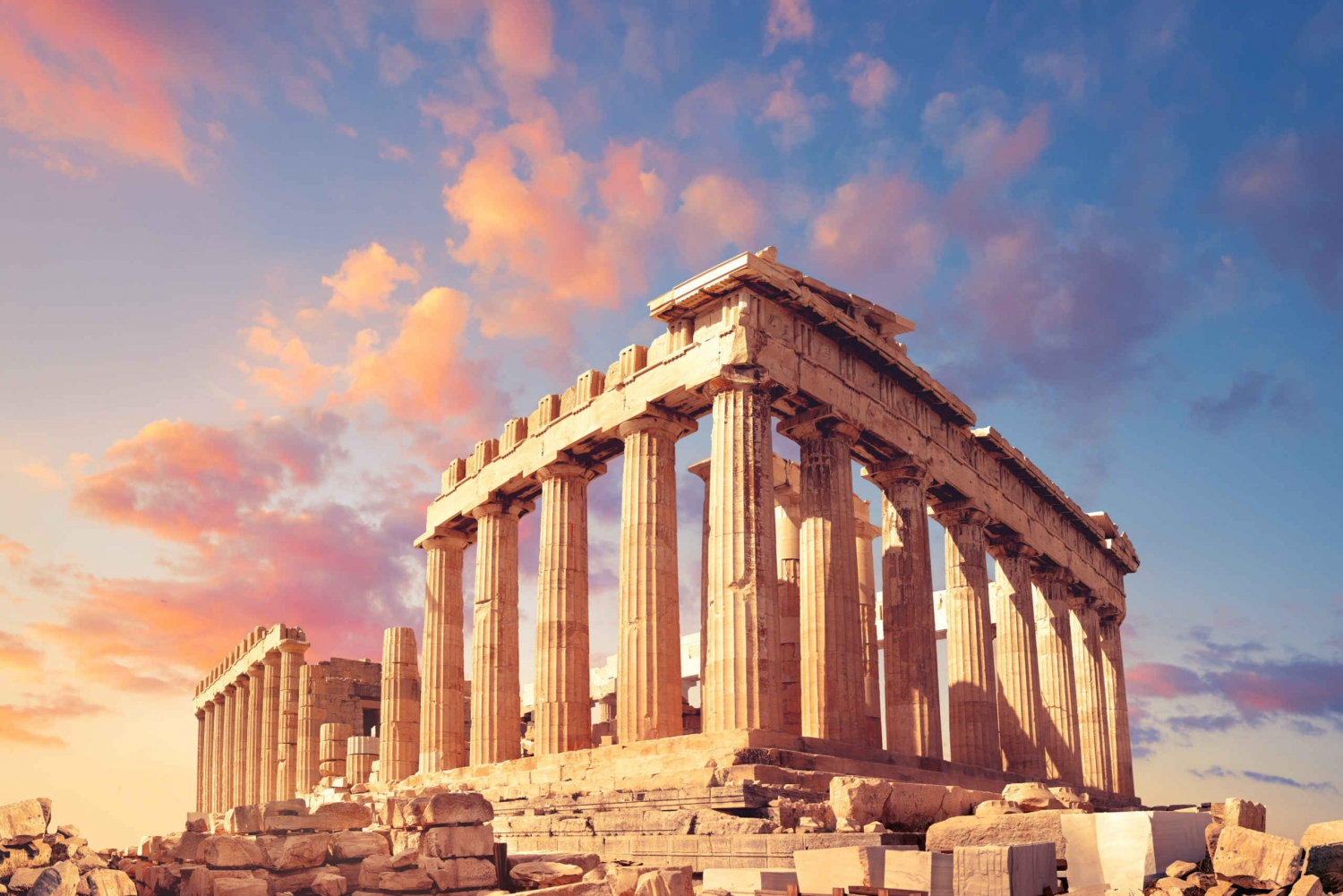 The Acropolis & the Hills: Guided Walking Tour with Tickets