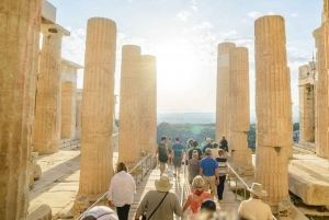 The Acropolis Walking Tour with a French Guide
