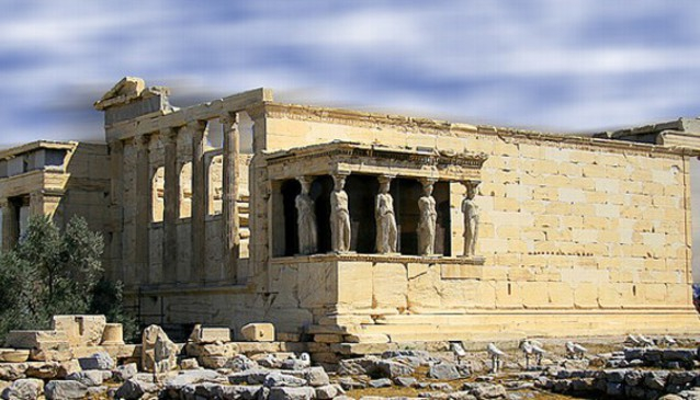 The Erechtheion, Acropolis