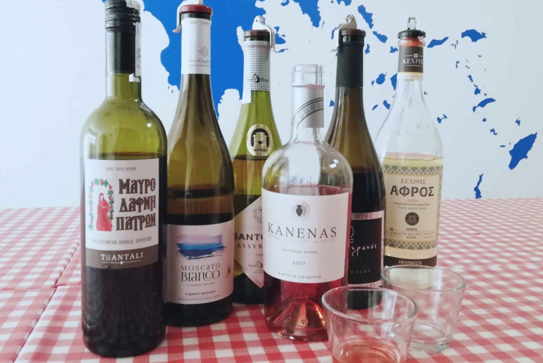 The Greek Wine Tasting Beginner's Class