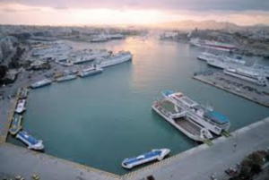 Transfer Between Piraeus Port and Athens by Mercedes E Taxi