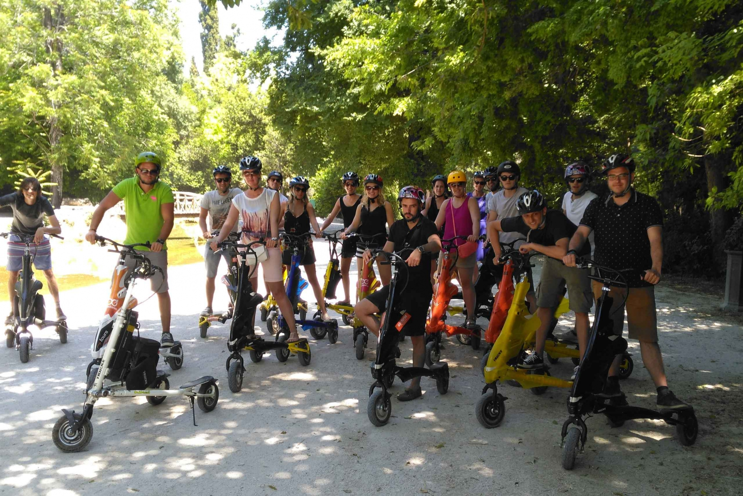 Wine Tasting and Athens Trikke Combo Tour
