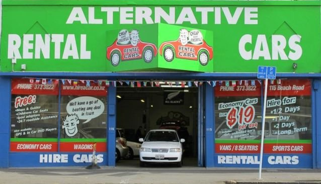 Alternative Rental Cars