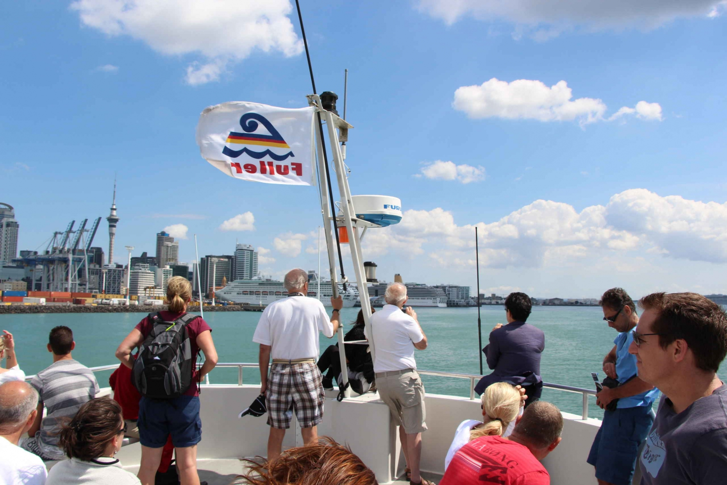 Auckland Harbor Sightseeing Cruise & Morning/Afternoon Tea
