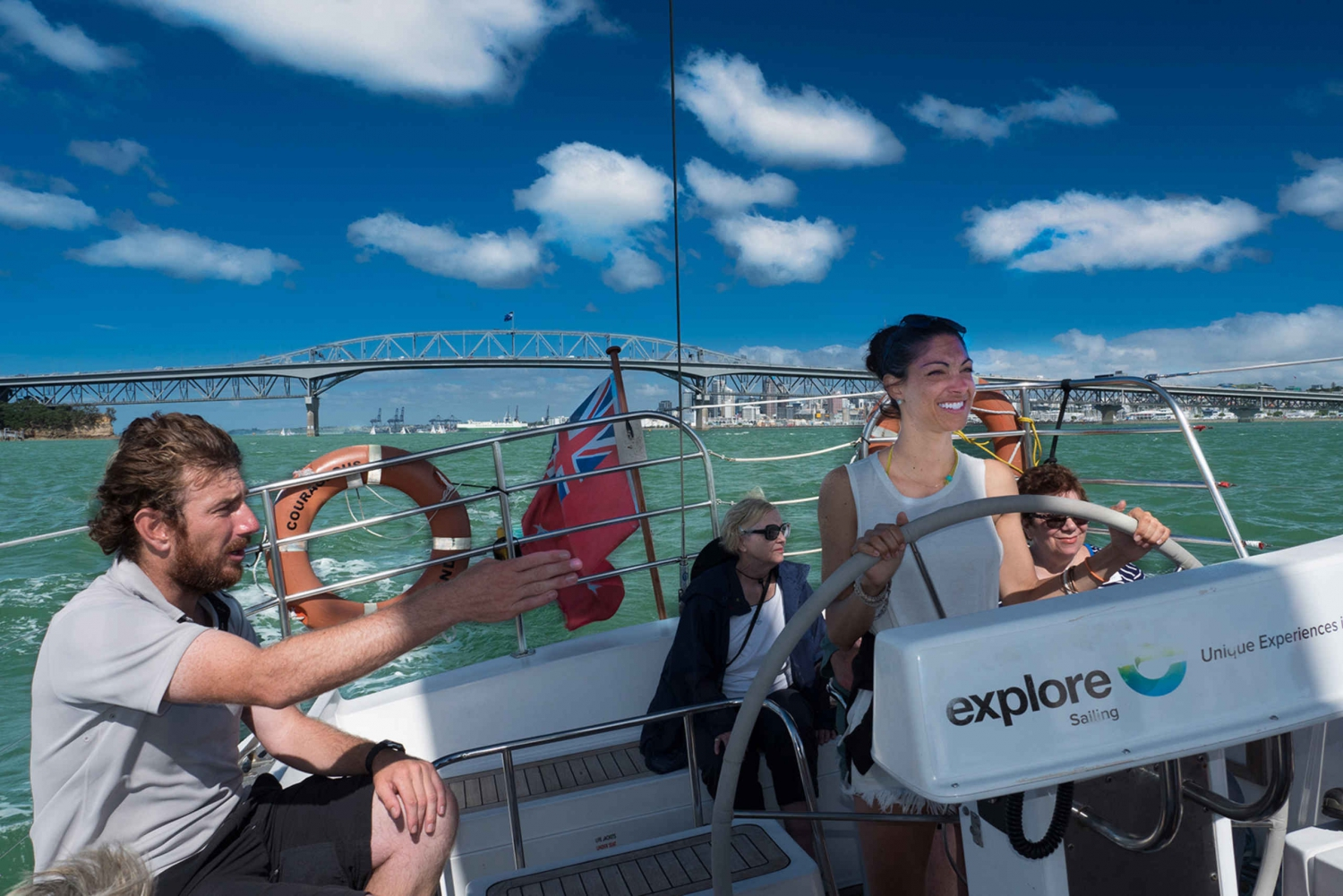 Auckland Harbour 1.5-Hour Sailing Cruise & Optional Lunch