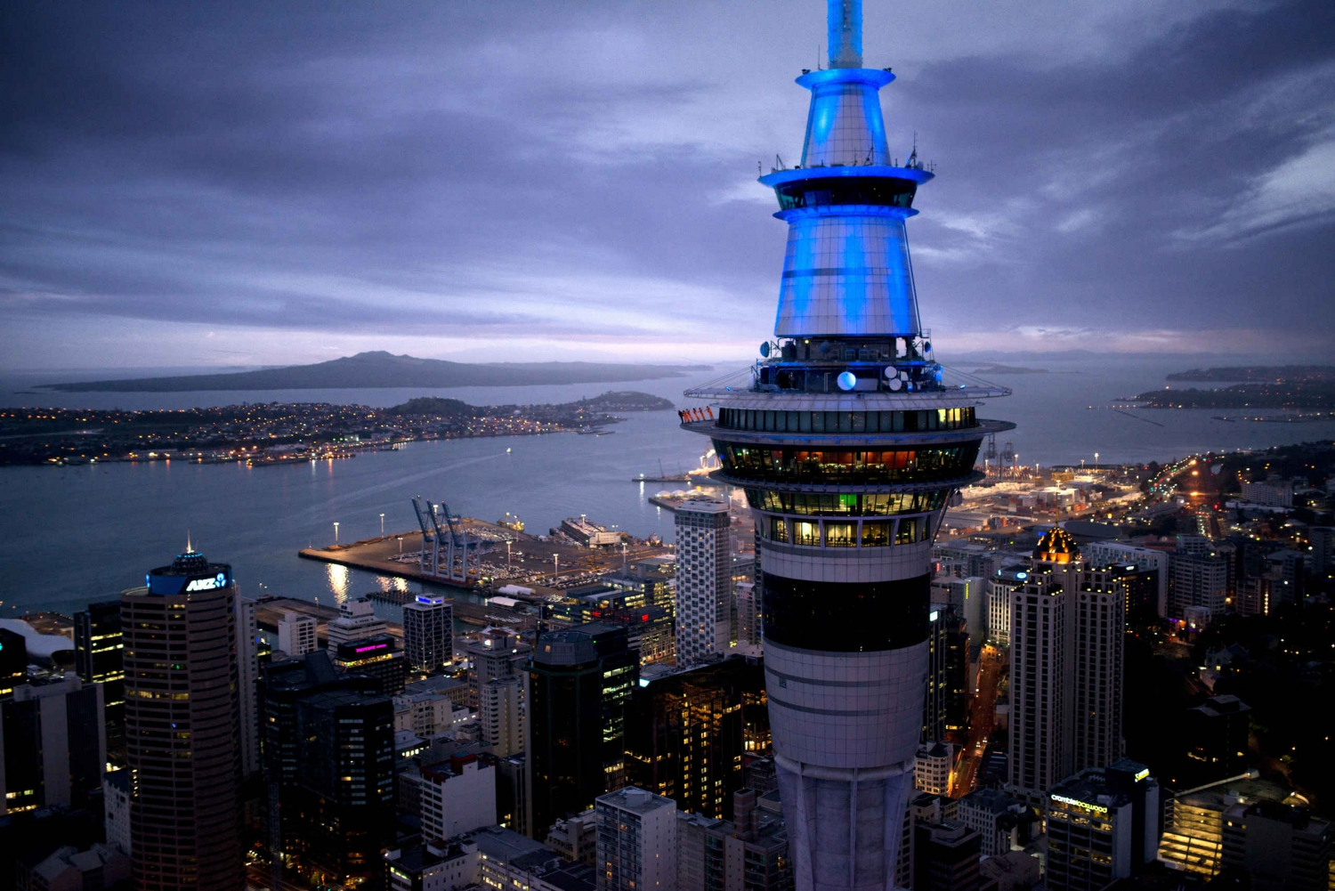 Auckland Sky Tower SkyWalk and Dine