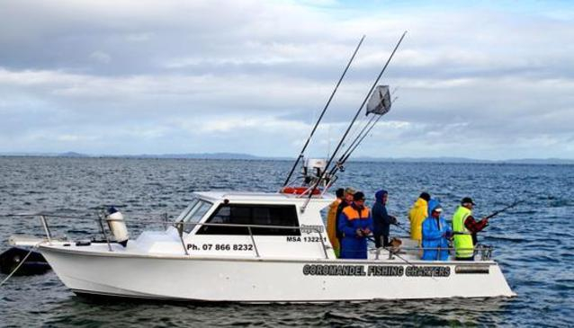 Coromandel fishing charters in auckland my guide auckland for Fishing charters auckland