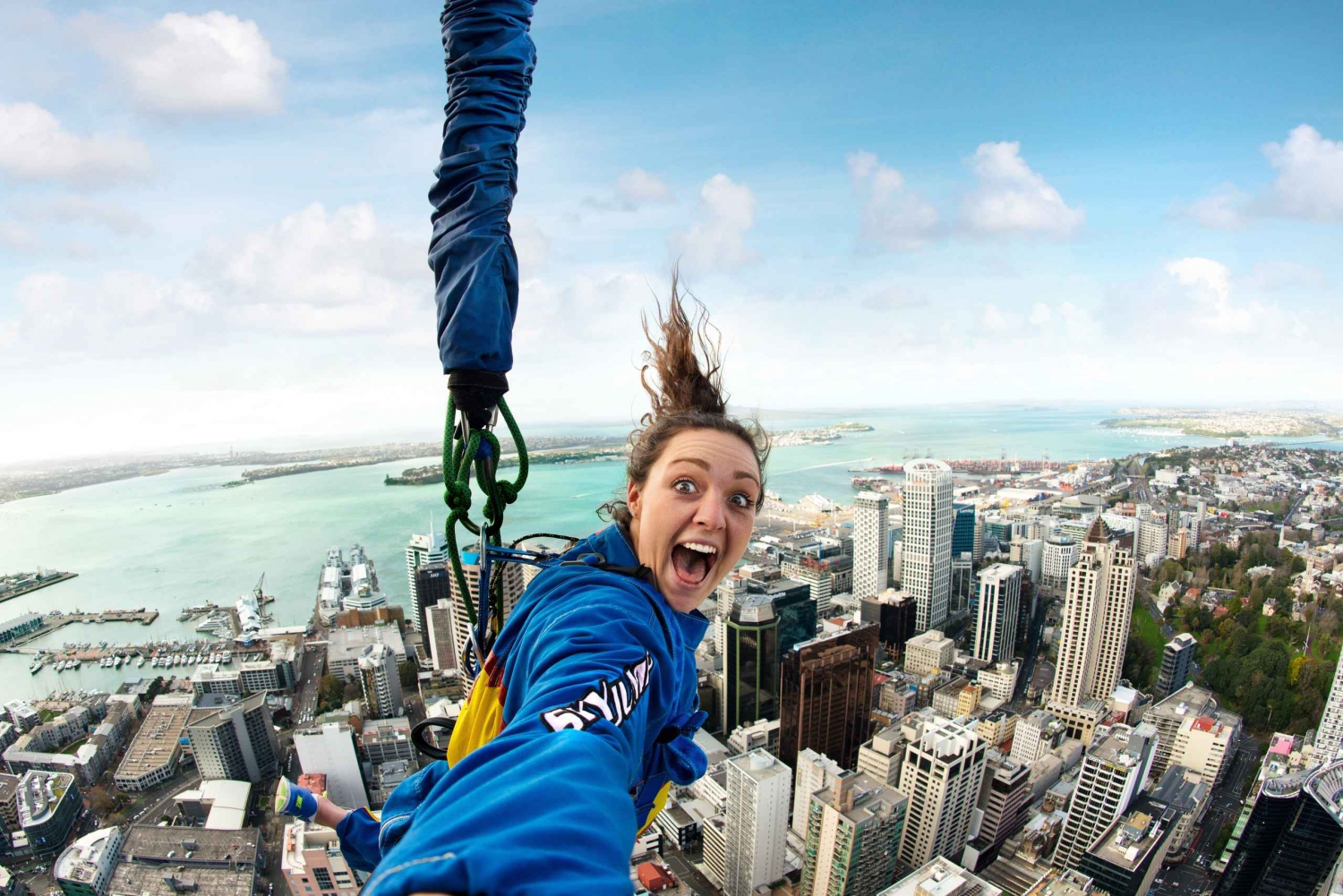 SkyJump Auckland with Sky Tower Entry Ticket