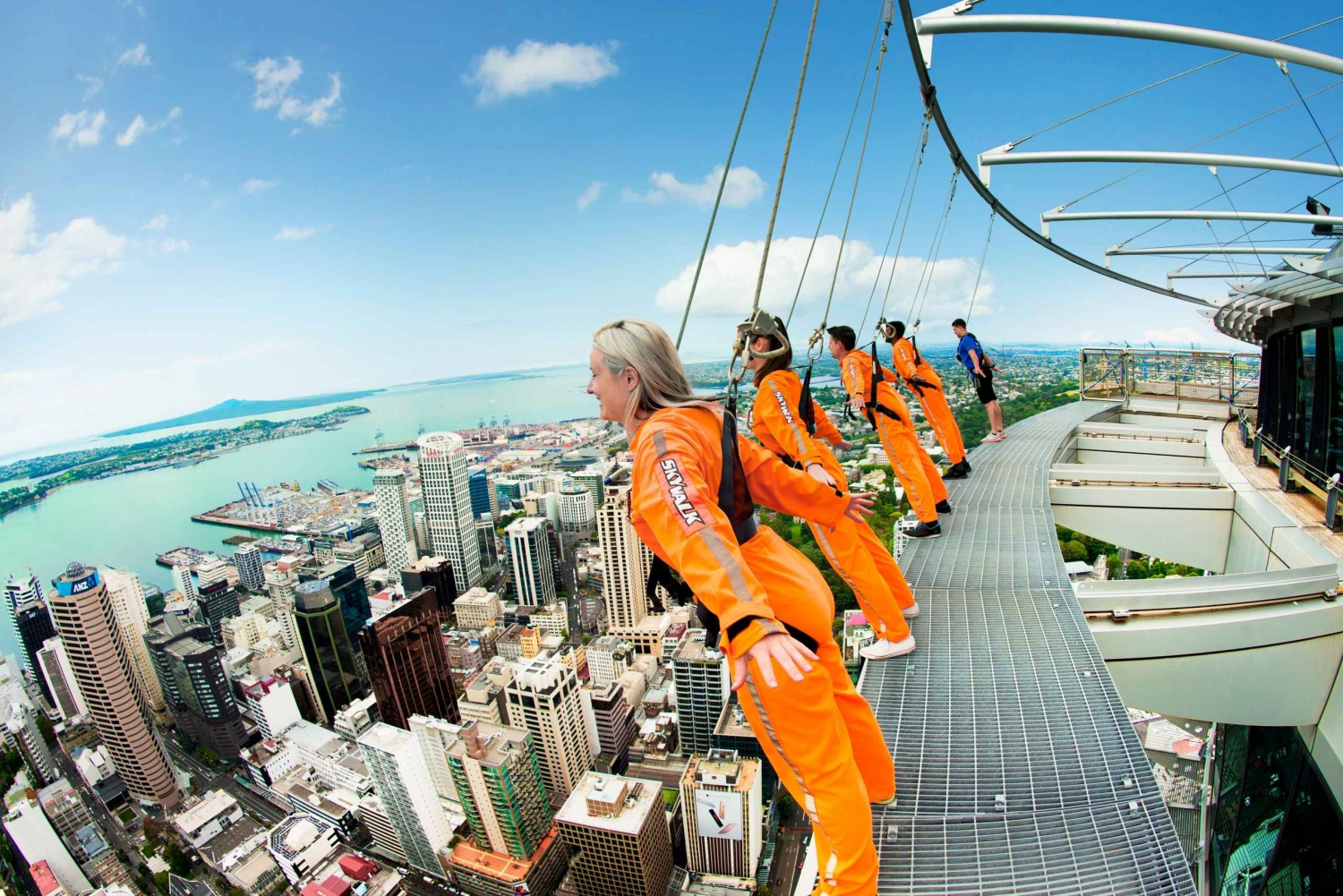 SkyWalk Auckland with Sky Tower Entry Ticket