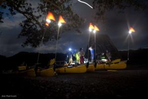 Sunset & Night Sea Kayak Tour to Rangitoto Island