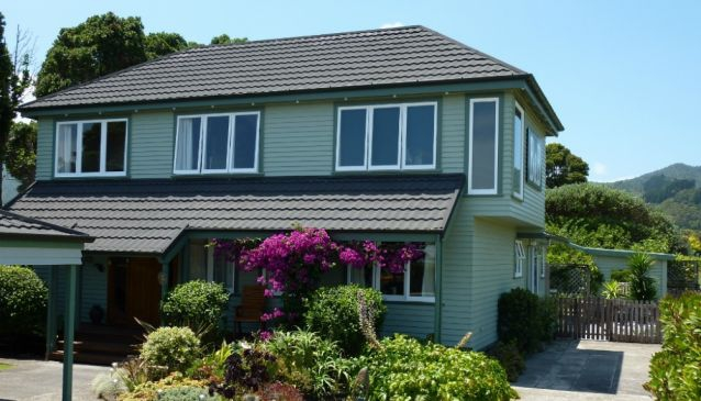 The Green House Bed & Breakfast Coromandel