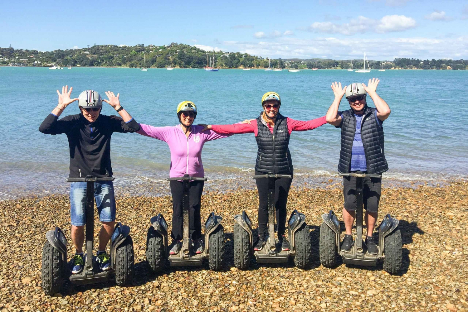 Waiheke Island Bay to Beach 2-Hour Segway Tour