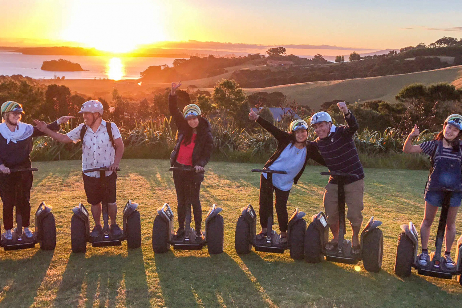 Waiheke Island Twilight Segway 2-Hour Tour