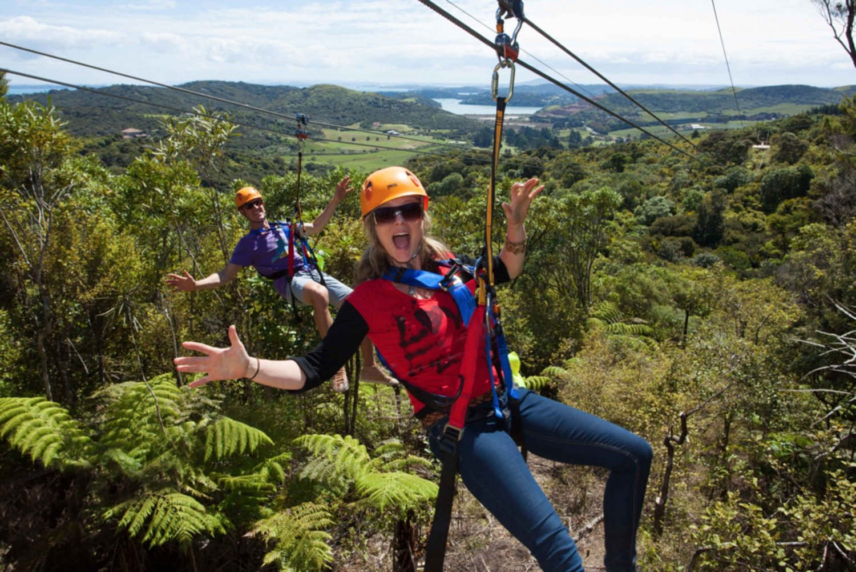 Waiheke Island Zipline & Native Forest Adventure