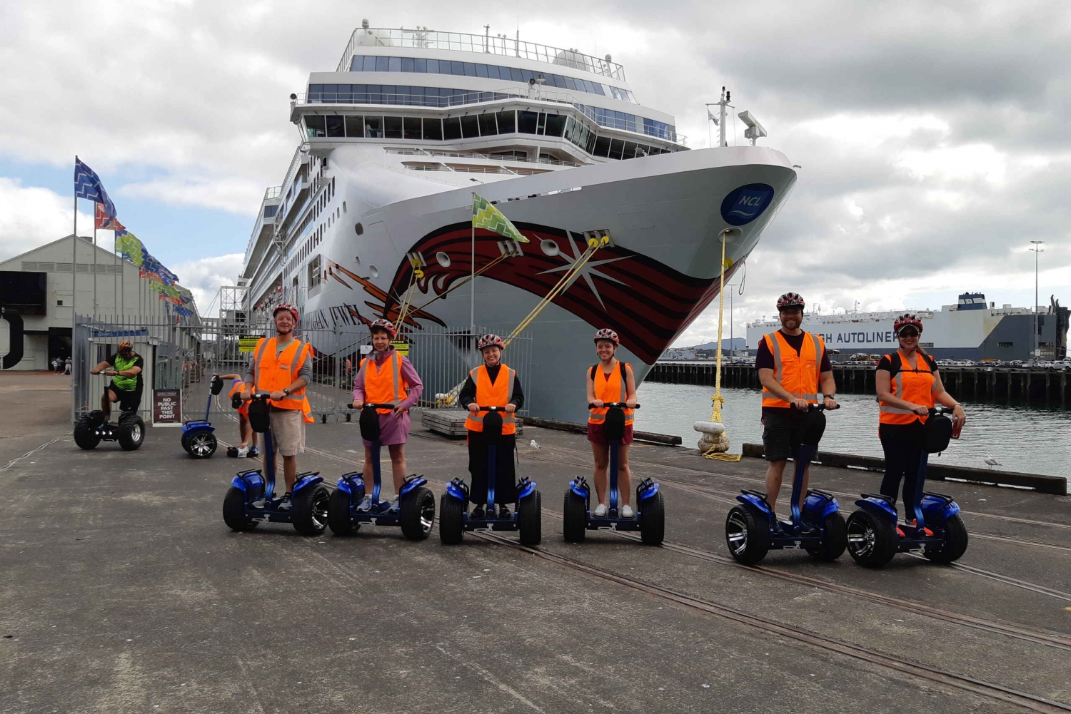 Waterfront and Harbour Segway Tour