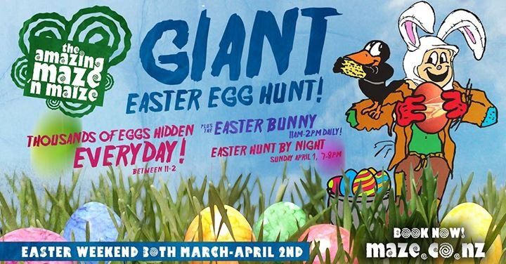 Amazing Maze Giant Easter Egg Hunt 2018