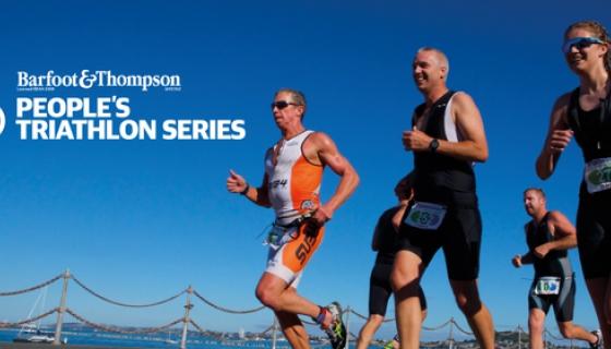 Barfoot & Thompson People's Triathlon - Race 2