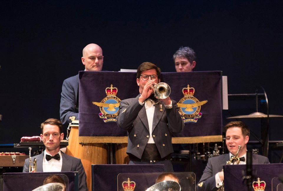 Brass at the Falls: Royal NZ Air Force Band