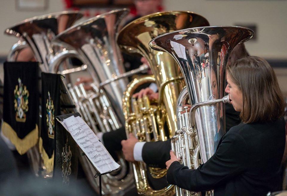Brass At The Falls: Waitakere Brass