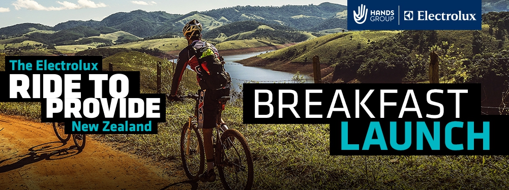 Breakfast Launch - Electrolux Ride to Provide: New Zealand