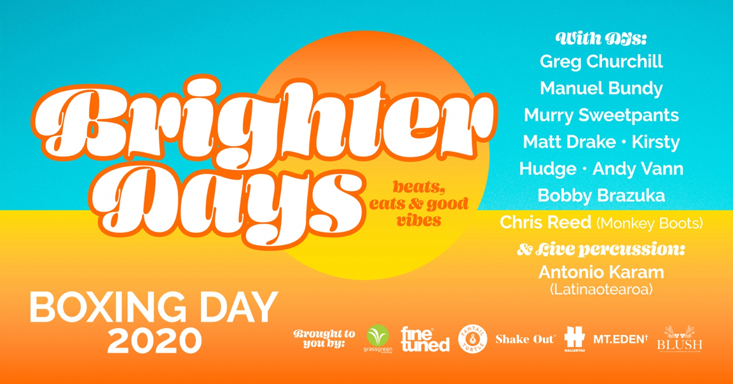 Brighter Days-Beats, Eats & Good Vibes-Boxing Day