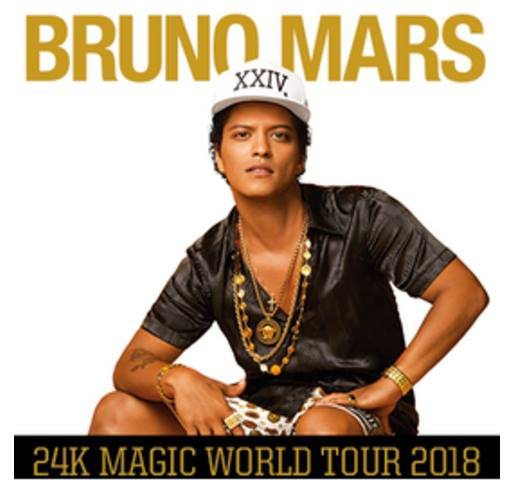Bruno Mars at Spark Arena (Official)