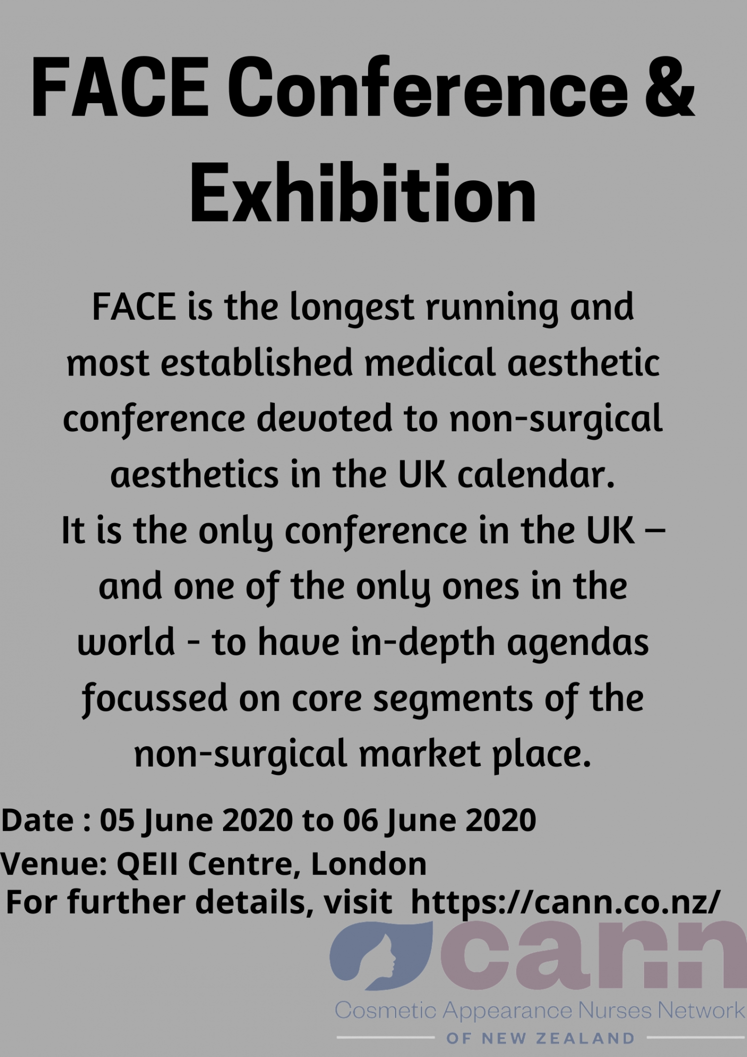FACE Conference & Exhibition - June