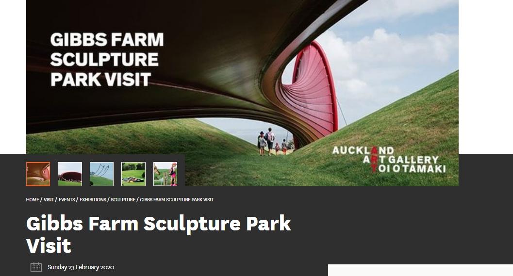 Gibbs Farm Sculpture Park Visit
