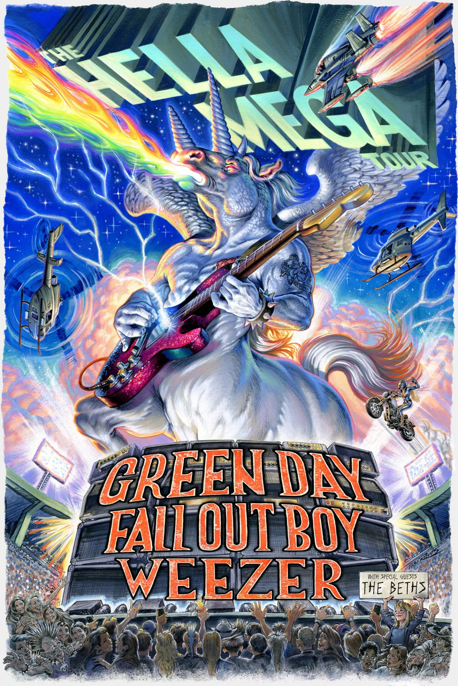 Hella Mega Tour - Green Day, Fall Out Boy & Weezer