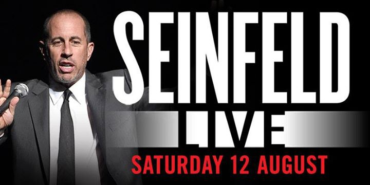 Jerry Seinfeld LIVE at Spark Arena - Official Facebook Event