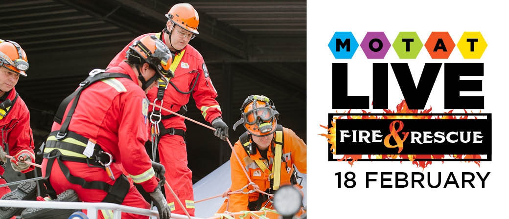 Live Day: Fire and Rescue at MOTAT