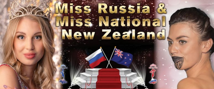 Miss Russia NZ and Miss National NZ 2020