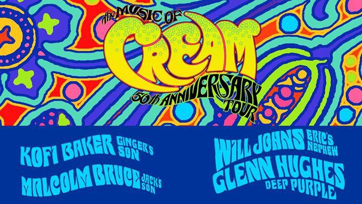 Music of Cream 50th Anniversary Tour - Auckland