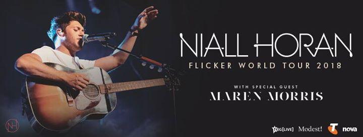 Niall Horan - Flicker Australian & New Zealand Tour 2018