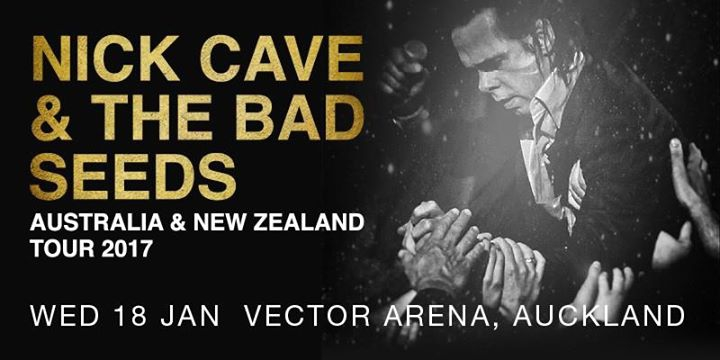 Nick Cave & The Bad Seeds at Vector Arena
