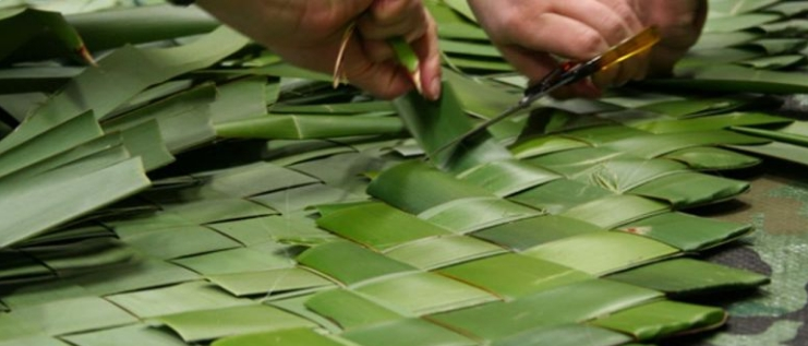 Raranga - Flax Weaving Monday 2 March 2020