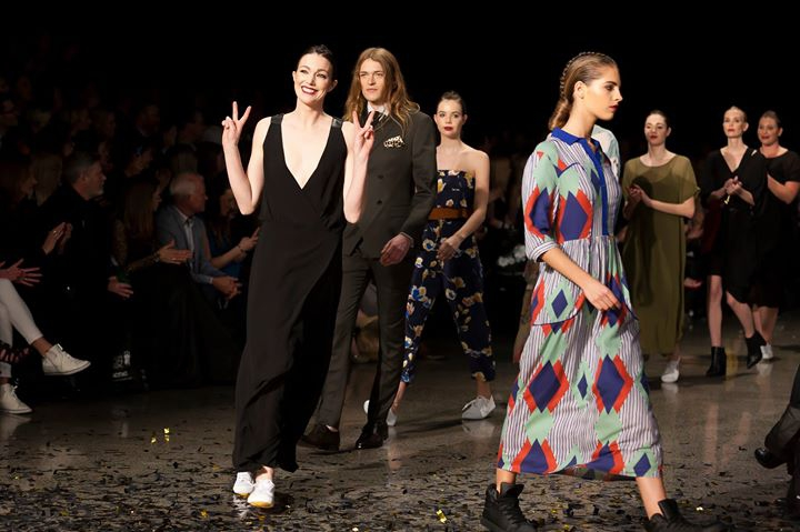 Resene Designer Runway show at NZ Fashion Weekend