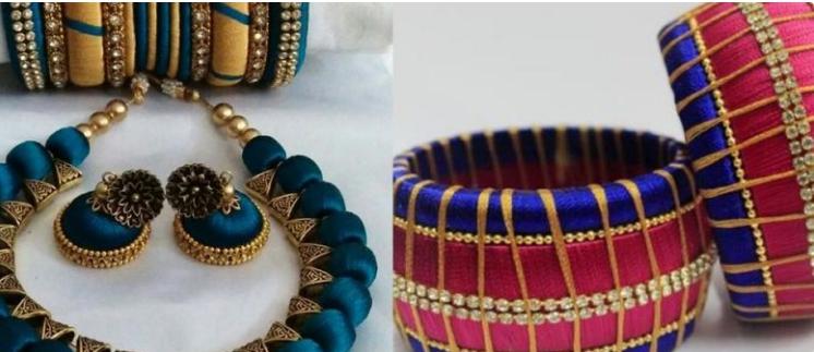Silk Thread Jewellery Making Saturday 21 March 2020