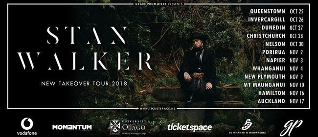 Stan Walker - New Takeover Tour