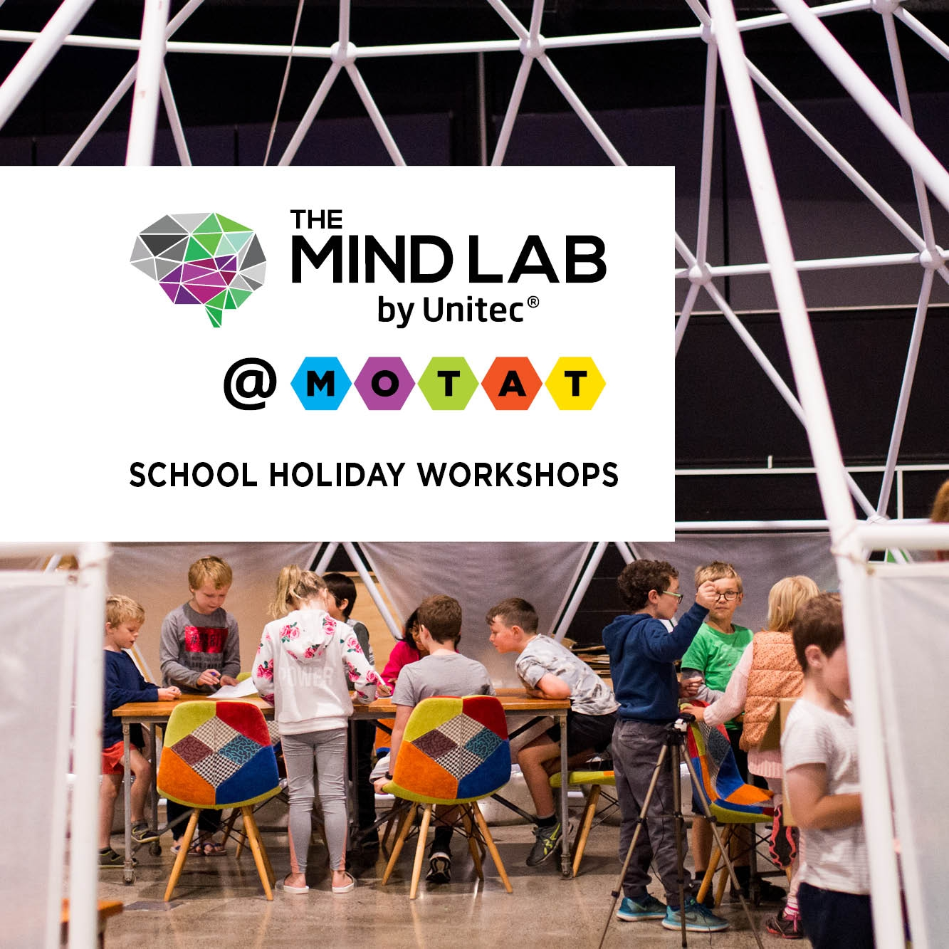 The Mind Lab by Unitec School Holiday Workshops