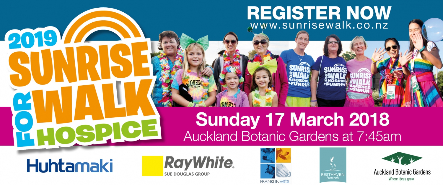 Totara Hospice Sunrise Walk