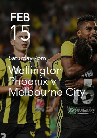 Wellington Phoenix v Melbourne City
