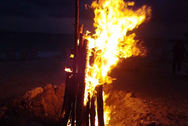 From Freeport: 3-Hour Bahamas Bonfire on the Beach