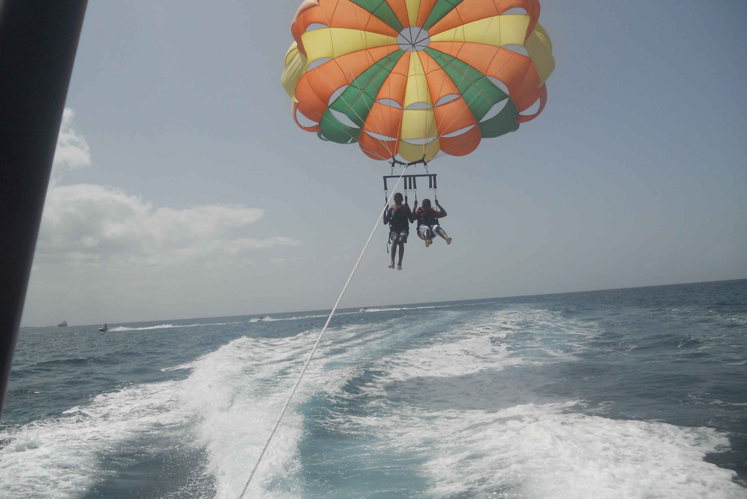Nassau: Double Parasail Over Cabbage Beach