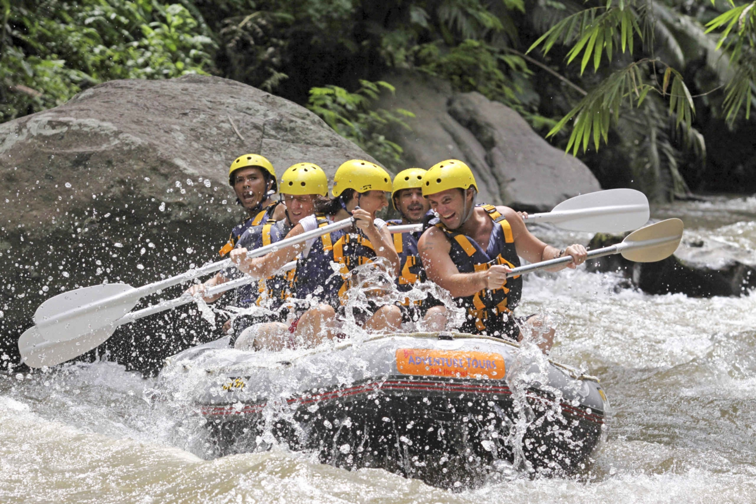 Ayung River White Water Rafting with Lunch